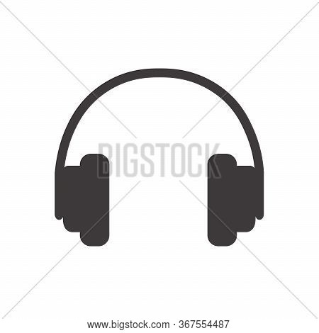Headphone Icon, Headphone Icon Vector, In Trendy Flat Style Isolated On White Background. Headphone