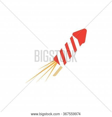 Fire Cracker Graphic Design Template Vector Isolated Illustration