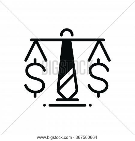 Black Solid Icon For Business-law Business Law Enactment Enaction Lawmaking