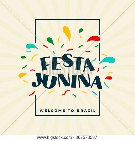 Latin American Festa Junina Celebration Festival Background