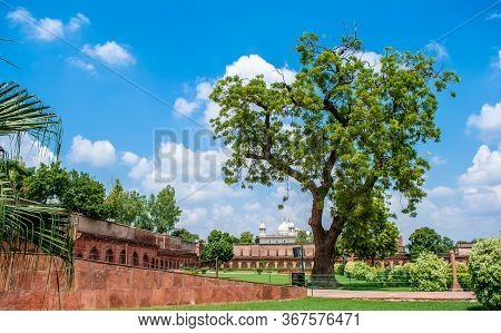 Agra Fort Is A Historical Fort In The City Of Agra In India. Lal Quila Agra