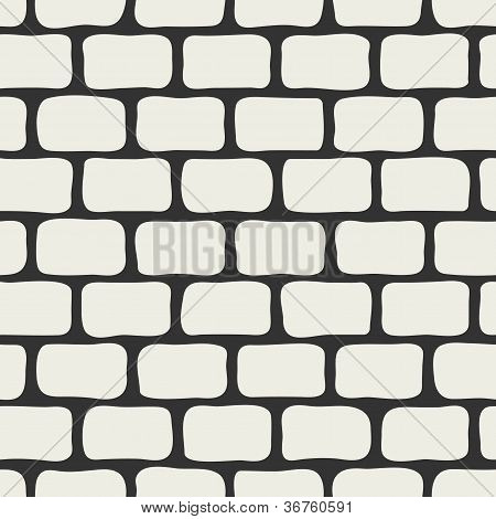 Abstract brick wall seamless background.