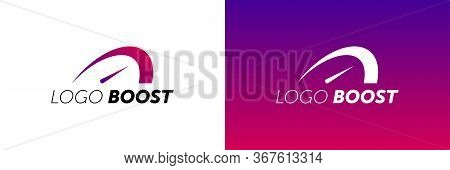 Logo Boost Template Design Vector. Boost Logotype.
