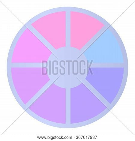 Color Variety Nails Icon. Cartoon Of Color Variety Nails Vector Icon For Web Design Isolated On Whit