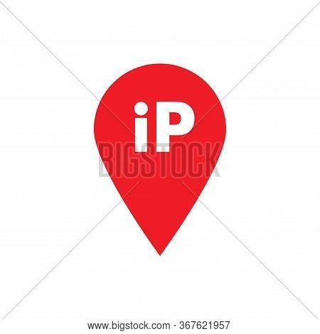Ip Pointer In Flat, Isolated Vector Icon For Wab