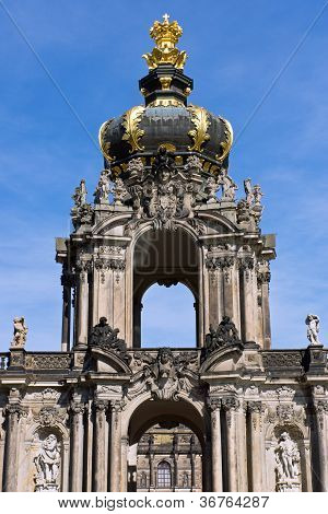 Detail of the Zwinger