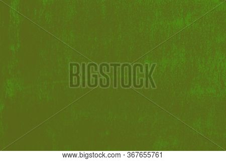 Old Faded Green Mustard Background. Shabby Background.