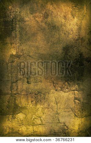 Golden Grunge Texture
