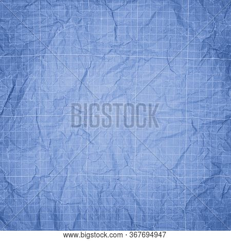 Scientific Engineering Grid Paper With Scale. Blueprint Background
