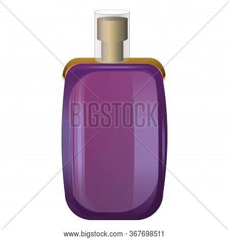 Cosmetic Perfume Icon. Cartoon Of Cosmetic Perfume Vector Icon For Web Design Isolated On White Back