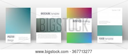 Flyer Layout. Minimalistic Remarkable Template For Brochure, Annual Report, Magazine, Poster, Corpor