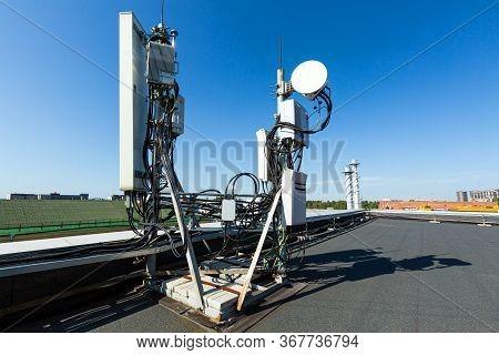 Metal Constructions For Telecommunication Data Equipment, Radio Panel Antennas, Outdoor Remote Radio