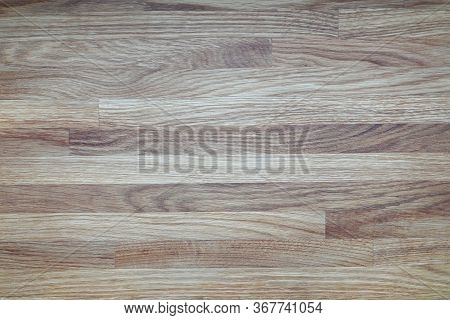 Flooring Wood, Linoleum Or Parquet Texture House. Modern Materials Are Used To Finish Floor In Apart