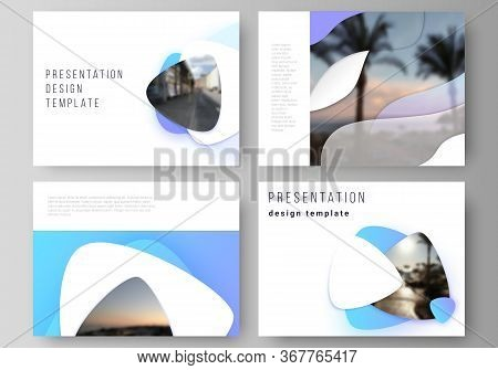 The Minimalistic Abstract Vector Illustration Of Editable Layout Of The Presentation Slides Design B
