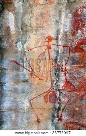 Ubirr Mabuyo Rock Art