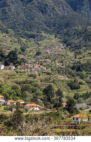 Village And Terrace Cultivation In The Surroundings Of Sao Vicente. North Coast Of Madeira Island, P
