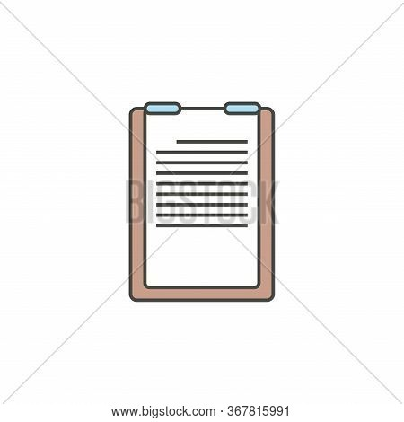 Check List Icon Isolated On White Background. Check List Icon In Trendy Design Style. Check List Vec