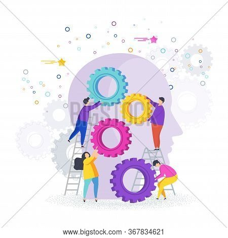 Small People Collect Gear In The Human Head. The Development Of Imagination And Creativity, The Emer