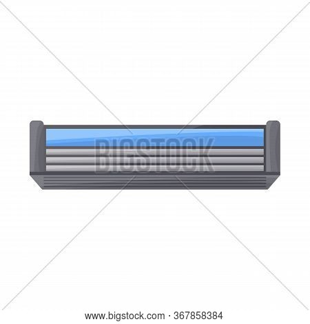 Isolated Object Of Blade And Shaver Sign. Web Element Of Blade And Safety Vector Icon For Stock.