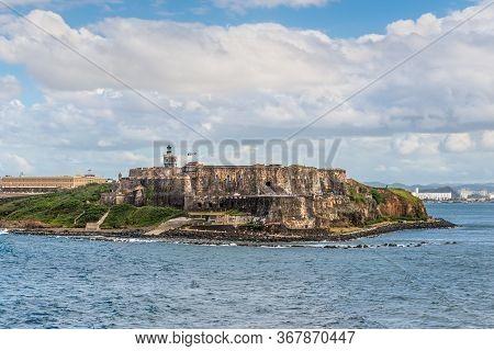 View Of El Morro Fortress In San Juan, Puerto Rico