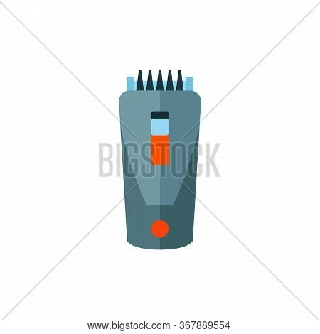 Icon Of Hair Clipper. Hairstylist, Barbershop, Haircut. Hairdresser Tools Concept. Can Be Used For T