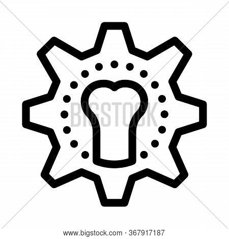 Joint Restoration Icon Vector. Joint Restoration Sign. Isolated Contour Symbol Illustration