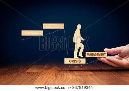 The Crisis Manager Helps Company Overcome Crisis To Start New Growth. Motivation For Growth After Cr