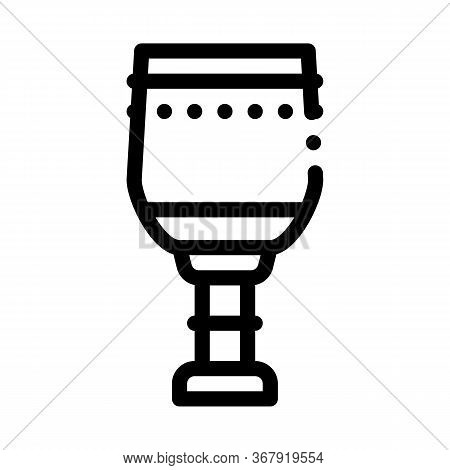 Sacred Water In Church Icon Vector. Sacred Water In Church Sign. Isolated Contour Symbol Illustratio