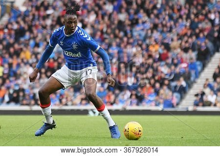 Glasgow, Scotland - July 18, 2019: Joe Aribo Of Rangers Pictured During The 2nd Leg Of The 2019/20 U