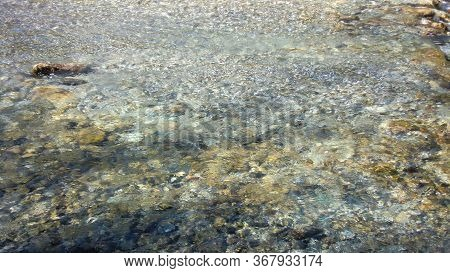 Torrent Water Texture With High Level Of Detail