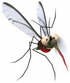 Fun mosquito poster
