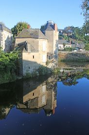 Segre By The River Oudon In Anjou, France