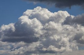 Beautiful Clouds With Sky Background. Nature Weather, Cloud Sky