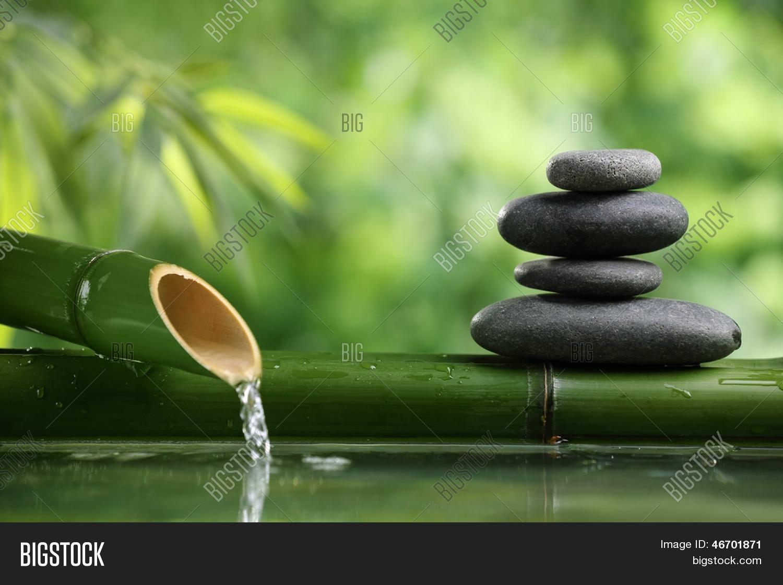 Image Et Photo De Spa Nature Essai Gratuit Bigstock