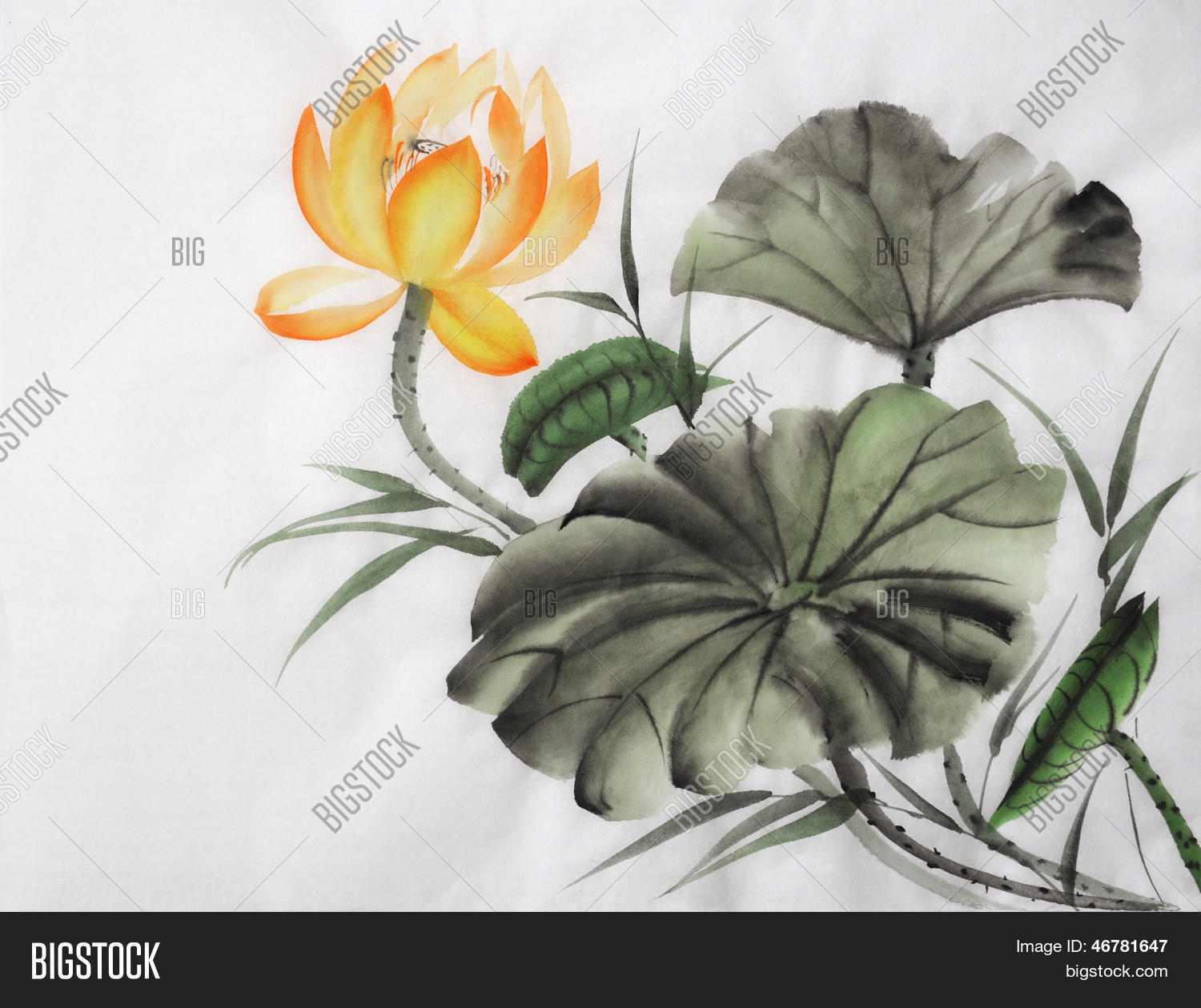 Watercolor Painting Image Photo Free Trial Bigstock
