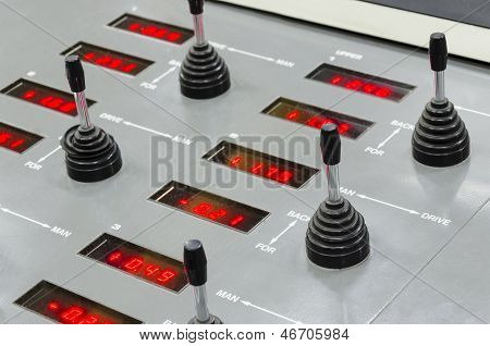 registration key control unit on offset print machine