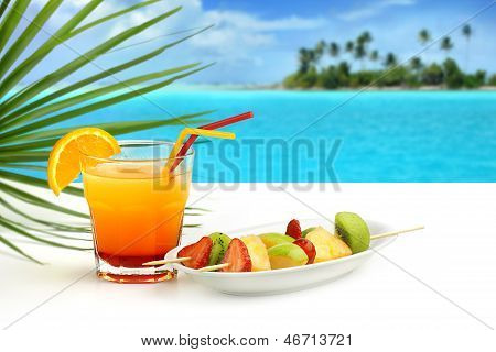 tropical refreshment