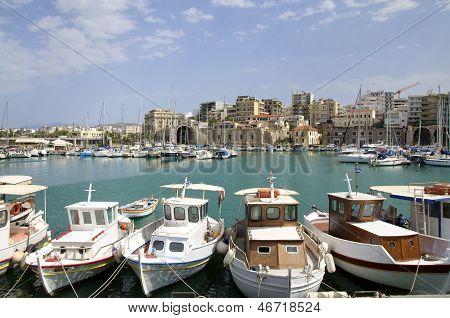 Venetian Harbor of Iraklion