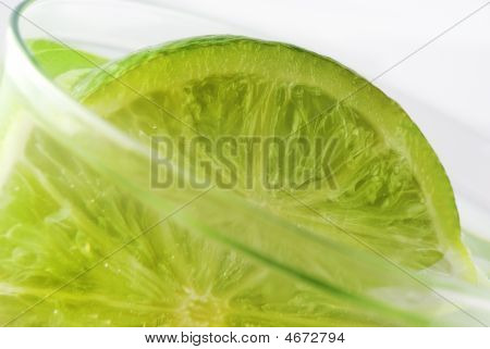 Lime In A Glass