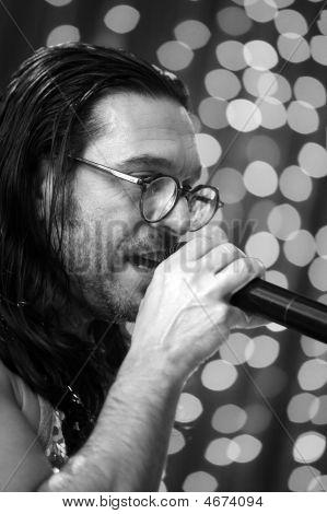 Russian Singer And Musician Oleg Sleptsov
