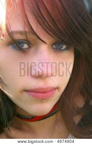 Face Of Pretty Girl