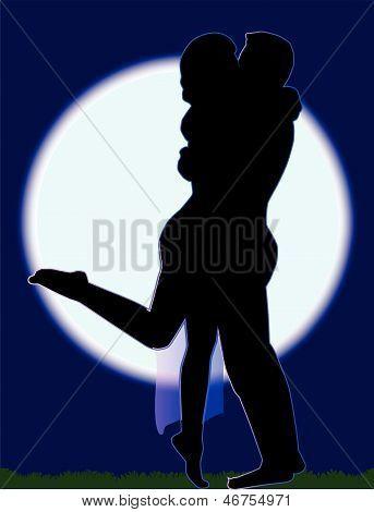 Moonlit Lovers