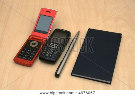 Mobiles Pen And Organizer