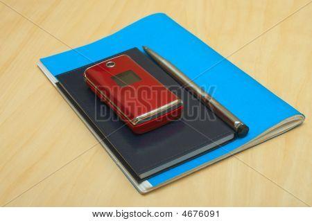 Mobile Pen Book And Calendar