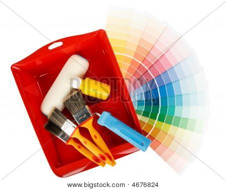 Painting Tools And Color Guide