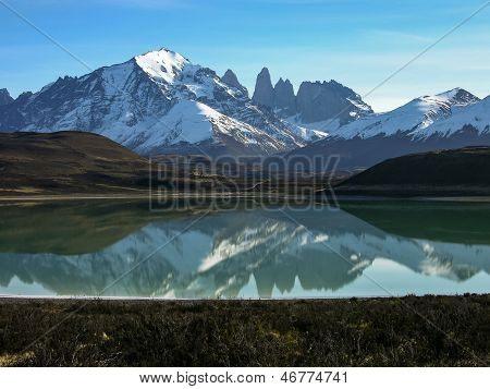 Lago Grey In Torres Del Paine