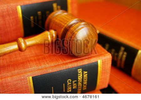 Law Book Pile