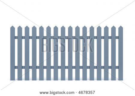 New Grey Fence