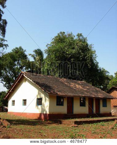 schöne indischen cottage