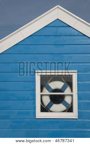 Beach Hut Window